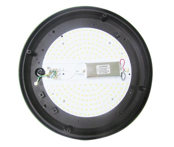 Round Shape LED Bulkhead Light Side Emitting Design With Microwave Sensor