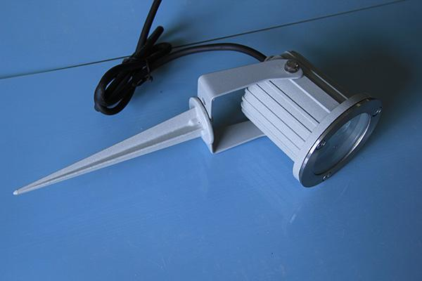 RGB LED Outdoor Landscape Lighting With PVC Spike 3W 9W 220V 0.8Kg Weight