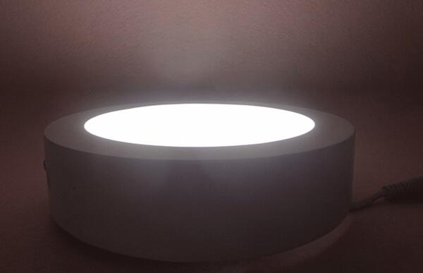 Surface Mounted LED Panel Light 300MM Diameter With 180 Degree Beam Angle