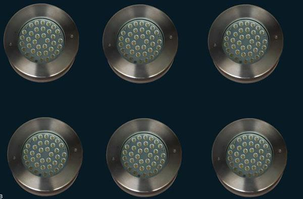 Underground Lights 36pcs High Power LED , Big Size Outdoor LED Light Fixtures Dimmable