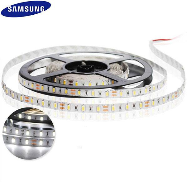 Flexible LED Strip Light SAMSUNG 5630 SMD No Dimmable For Cabinet Lighting