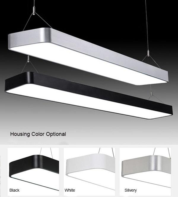 Easy Maintain LED Flat Panel Light Pendant Installation With 8 ~ 25m² Lighting Area 1