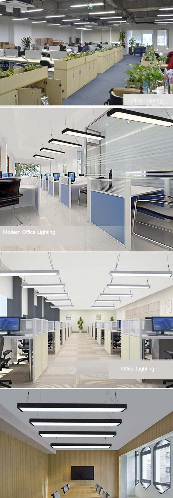 LED Suspended Ceiling Lights 18W / 36W , LED Linear Lighting With Seamless Connection