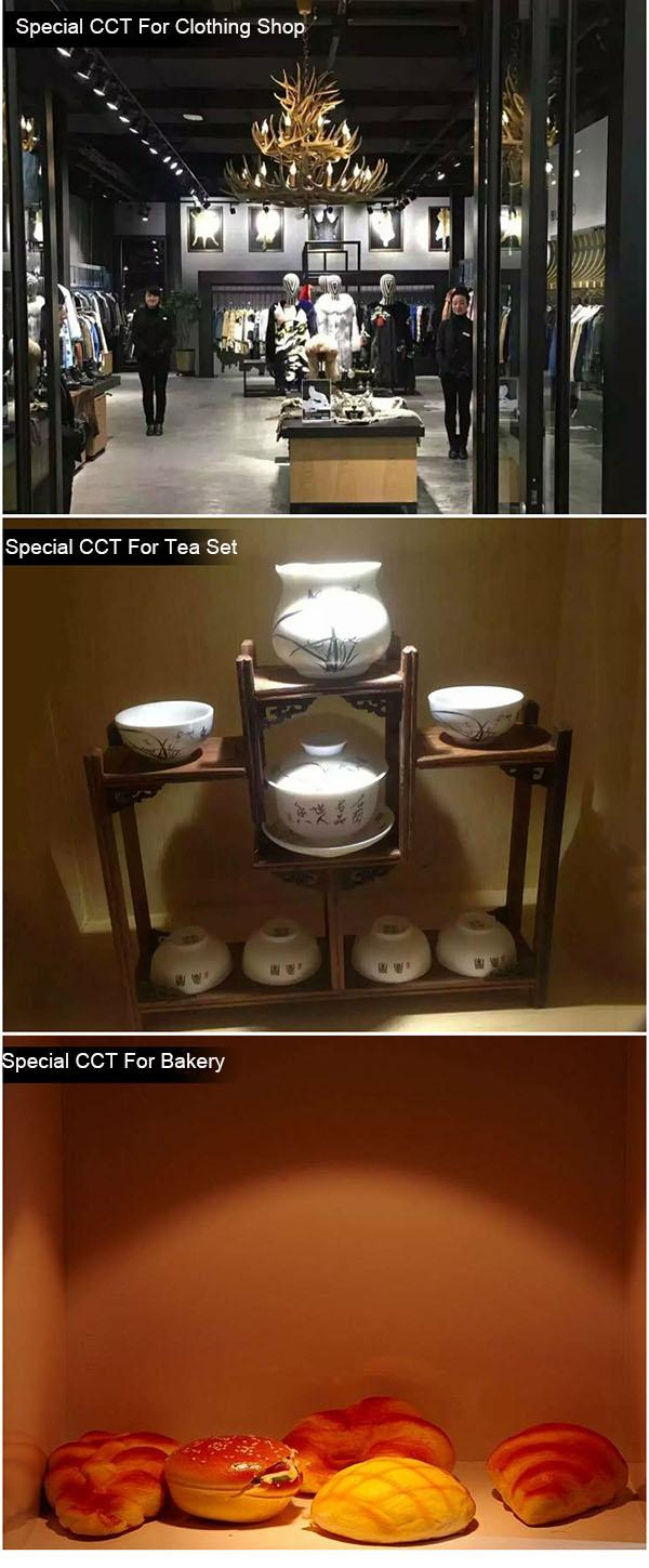 LED Track Lights Power Optional With -15℃ ~50℃ Operating Temperature AL - TT201