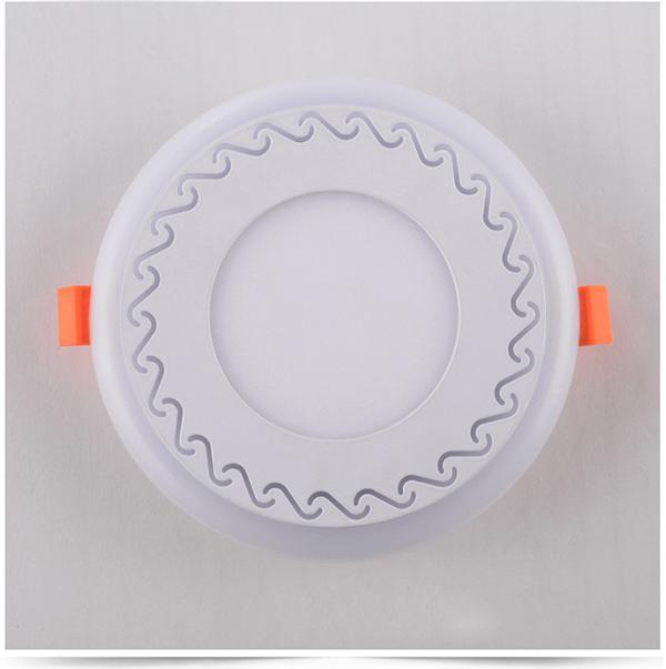 Double Color LED Recessed Panel Light 0