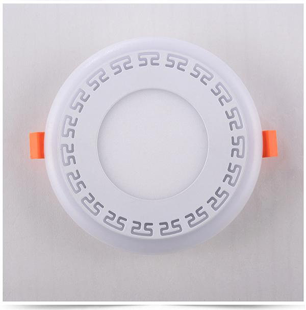 Double Color LED Recessed Panel Light 1