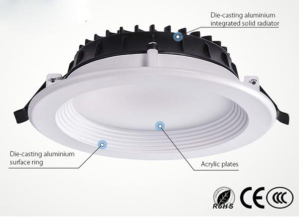 SAMSUNG All Size Recessed LED Downlight Anti Glare Dimmabl With Adjustable Beam Angle 3