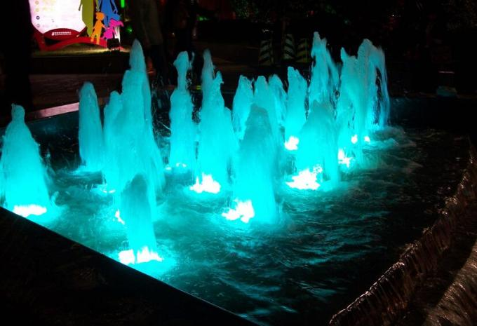 SUS 316 Stainless Steel LED Underwater Light Fountain Light 9W / 27W