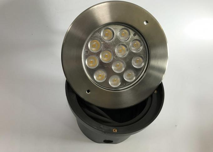 12 x 3W Recessed LED Underwater Lights IP68 Swimming Pool Lights With PVC Sleeve