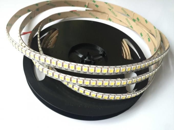 Super Bright Ra 95 Taiwan Epistar / 5050 SMD Flexible LED Strip Light 2700K ~ 6500K