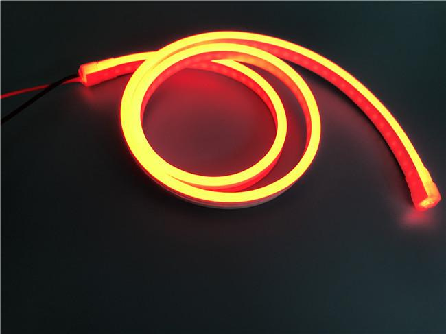 Silicone LED Neon Light 12V 18 x 6mm  For Advertising And Landscape Lighting