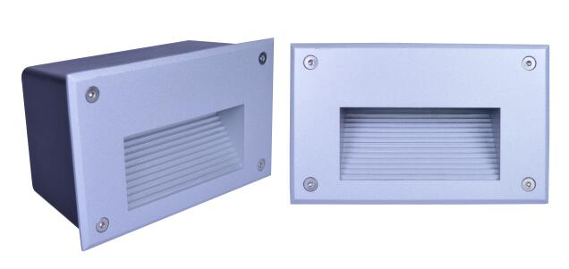 LED Outdoor Wall Lights IP67 , Recessed Led Outdoor Step Lights Square Shape