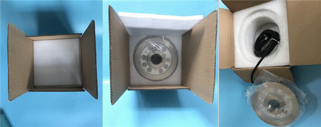 RGB 3in1 DMX512 LED Fountain Light With 182MM Diameter PG-11 Copper With Nickel Coated Gland