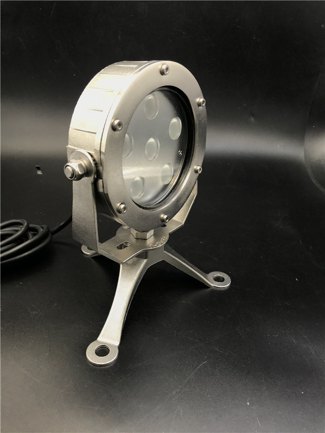 Molding Shaped Stainless Steel SUS316 LED Underwater Lights Built - In Constant Current Driver