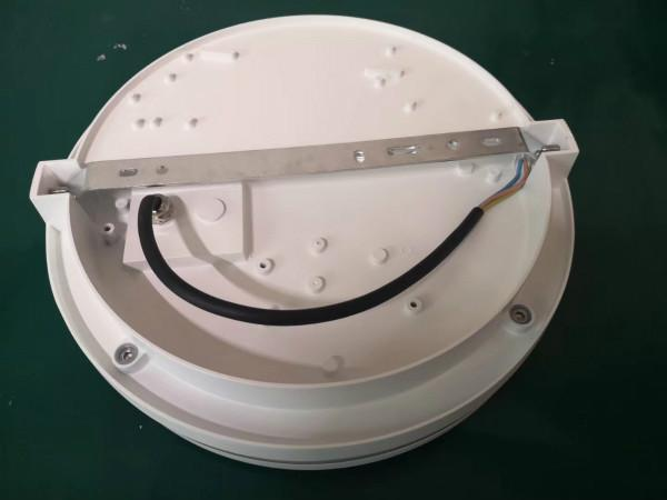 IP65 LED Bulkhead Wall Light Installation Free Separating Front Cover With Microwave Sensor