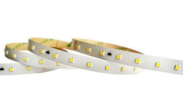 48 Volt 2835 SMD 10MM Width Flexible Light Strip 50 Meters Low Voltage Dropping