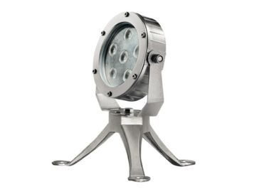 China All Size LED Underwater Lights 5mm Tempered Glass With 316 SS Tripod 12V / 24V supplier