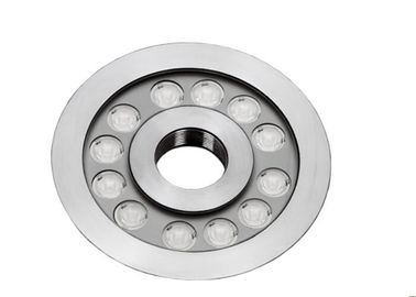 China RGB 3in1 LED Underwater Lights For Pools Dimmable 9W 27W 316 SS 7 Inch Φ182mm supplier