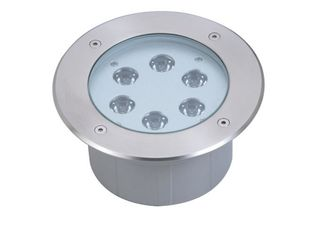 China LED Underground Light Color Optional 9 X 3W IP67 100V - 240V Φ160mm RoHS Approved supplier