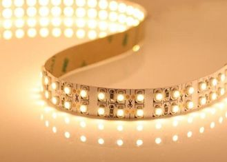China Flexible 3528 LED Ribbon Light Strips , Double Row 240leds/meter LED Strip supplier