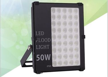 China Optical Lens LED Outdoor Flood Light Fixtures , Industrial LED Flood Lights 80~100 lm/W supplier
