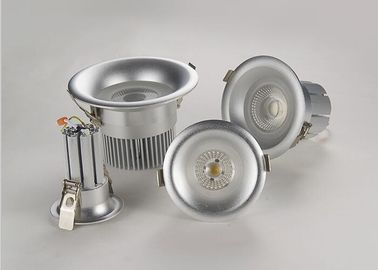 China Good Heat Dissipation Recessed LED Downlight With  Silvery Shell UV Protective Film supplier