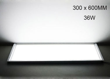 China LED Flat Panel Light 24W White Shell Color With 155 Degree Beam Angle IP20 Grade supplier