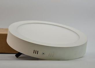 China Ultra Thin Round Surface Mounted LED Panel Light 3000k / 4000k / 6500K Color Temperature supplier
