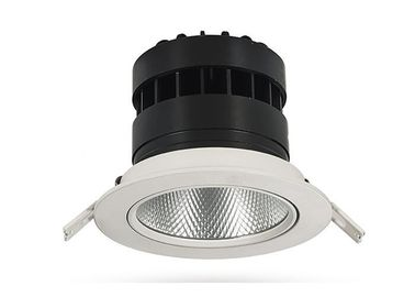 China Power Optional Recessed LED Downlight Aluminum Material For Exhibition Hall  Ra > 90 supplier