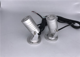 China High Voltage Outdoor LED Spotlights / Outdoor Garden Spotlights With RGB 3 In 1 Color supplier