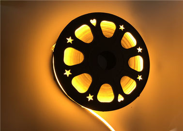 China Gold Yellow Color Flexible LED Strip Light With 120 Degree Beam Angle supplier