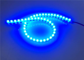 China Waterproof IP68 Flexible LED Strip Light / Great Wall Strip Lights With Silicone Material supplier