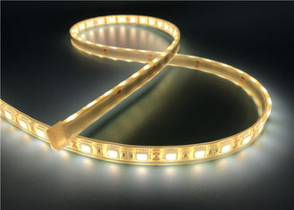 China 5050 60leds Flexible LED Strip Light 4000K Nature White 3M Self Adhesive LED Strip Lighting supplier