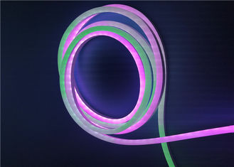China RGB Color Changing Silicone LED Neon Strip Lights With 943S Addressable supplier