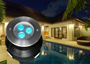 China 118MM Diameter LED Swimming Pool Light With RGB Color Changing Led Pool Light supplier