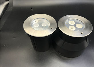 China SUS316 Stainless Steel LED Underwater Lights With Fireproof PVC Sleeve 6W 9W 12W supplier