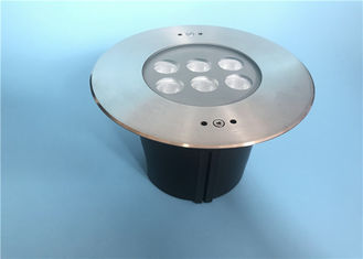 China DC 12V 6 X 2 W LED Recessed Underwater Light With Symmetrical Lens supplier