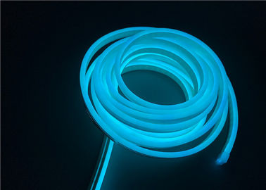 China Ice Blue LED Silicone Neon Strip Lights 6 X 12mm Size For Architectural Decorative supplier