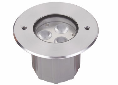 China Cree LED 6W 9W Underground Lights With 316 Stainless Steel Cover supplier