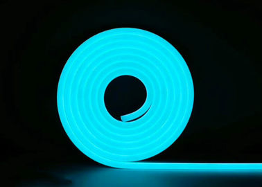 China Dome Silicone SMD LED Flex Neon Strip Light , 6 x 12MM 8 x 16MM 2.5CM Cutting supplier