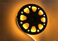 China Gold Yellow Color Flexible LED Strip Light With 120 Degree Beam Angle factory