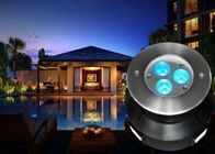 1 x 4W RGBW 4in1 LED Underwater Fountain Lights With 8MM Step Tempered Glass For Pool Lighting
