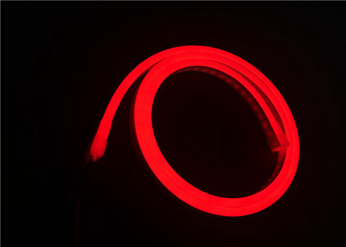 Red Color 24v Super Flexible Led Strip Light With Silicone