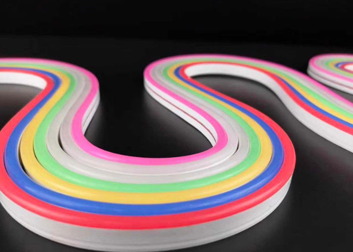 12/24Volt Silicone Flexible Neon Strips , High Brightness 2835 SMD LED With No Dark Spots