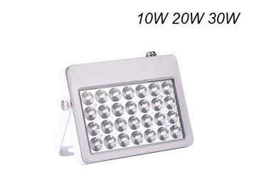 China White Housing Outdoor Flood Light Fixtures Waterproof IP65 With Reflector 60°Beam Angle factory