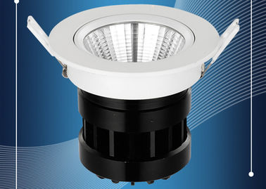 China Anti Glare Adjustable LED Downlights High CRI , Recessed Lighting For Bathrooms distributor