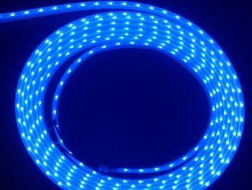 China RGB 020 SMD 60pcs / Meters Side Emitting Flexible Strip Lights With DC12V factory