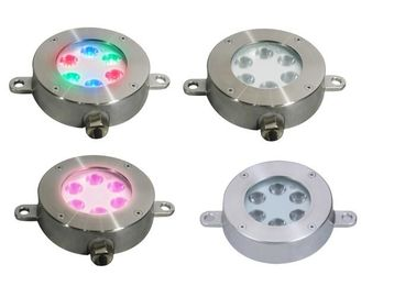 China Professional Underwater LED Fountain Lights , Led Swimming Pool Lights With Support Frame distributor