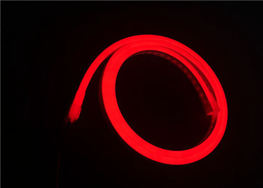 China Red Color 24V Super Flexible LED Strip Light With Silicone Materials For Outdoor Lighting distributor