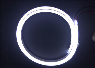 China Pink Violet Color Outdoor LED Strip Lights Waterproof / LED Neon Flex Tube distributor